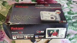 Б/у фотоаппарат Presto Recam цифровой.Возможно на запчасти.