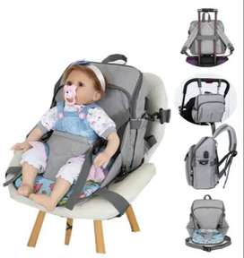 Multifunctional Baby Dining Chair Diaper Bag