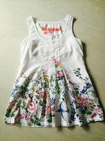 DESIGUAL modna bluzko-tunika roz M j.nowa