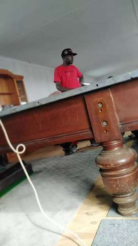 Pool and Snooker Table Recovering