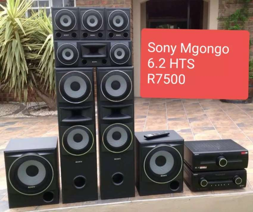 Sony Mgongo 6.2 Channel Home Theatre Surround Sound System 0