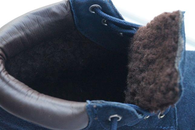 Ботинки для девочки и мальчика зимние замша, новые р,35,36,37,38,39,40 Киев - изображение 2