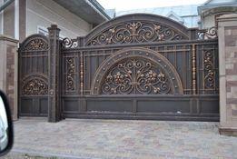 Ковані вироби сходи ворота балкони дашки огорожі