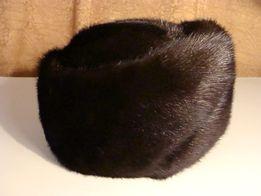 Шапка женская норка меховая теплая норковая зима зимняя натуральный