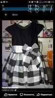 Красивые платьица на девочку 4-6 лет
