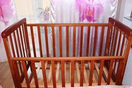 Детская кроватка + матрасик