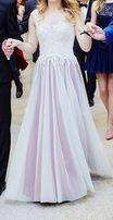 Suknia długa, wieczorowa, balowa.