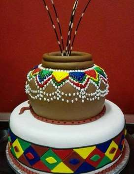 Traditional Wedding cakes Umembeso Cakes