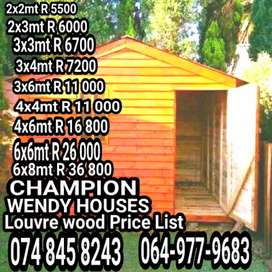 CHAMPION WENDY HOUSES PROJECT
