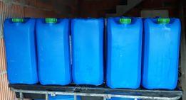 kanister pojemnik zbiornik 25 oraz 60 litrów