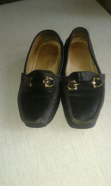 Продам женские кожаные туфли 37 размер Софиевская Борщаговка - изображение 2