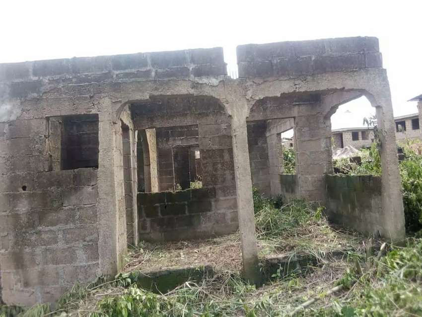 3bedroom flat at roofing level on a plot for sale at arigbajo area ifo 0