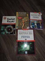4 książki przygotowujące do matury z fizyki.