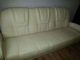 Kanapa, łóżko rozkładane z eko skóry BRW