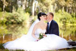 Свадебное платье белое бижютерия в подарок