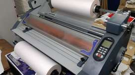 Professional Hot Cold A1 laminator. Offers Welcome