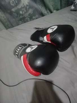 Title 12 ounce boxing gloves