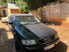 The car is on running condition Audi a62.8 v6 engine