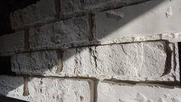 "Декоративный камень, кирпич""Лофт""со швом Белый"
