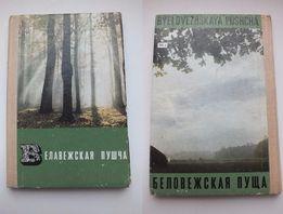 Книга раскладушка, фото альбом Беловежская Пуща, СССР