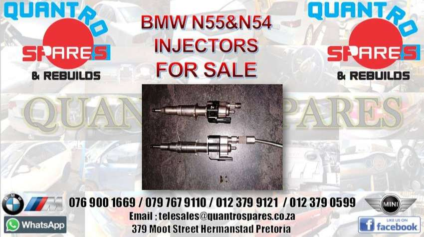 BMW N55 & N54 injectors for sale for sale 0