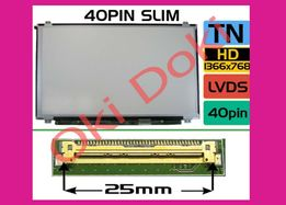 Матрица 15.6'' 40 pin slim N156BGE NT156WHM LP156WH3 B156XW0 LP156WHB