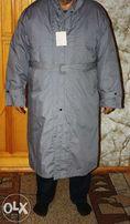 Мужское пуховое пальто новое