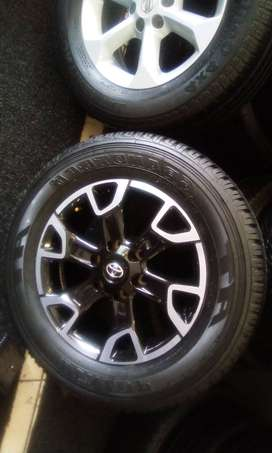 """18"""" Toyota Legend 50 new shape rim and new tyre for R3799."""