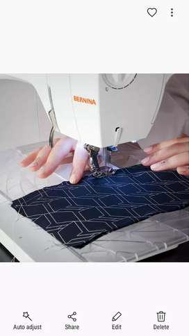 Sewing, mending service