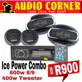 Ice Power Sound System New