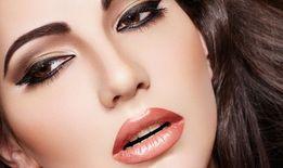 Татуаж. Перманентный макияж. Пудровые брови. Акварельные губы.
