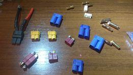 Продам коннекторы на батареии lipo, losi, arma, hpi, traxxas