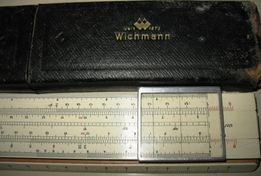 Логарифмическая линейка Wichmann-1873г.
