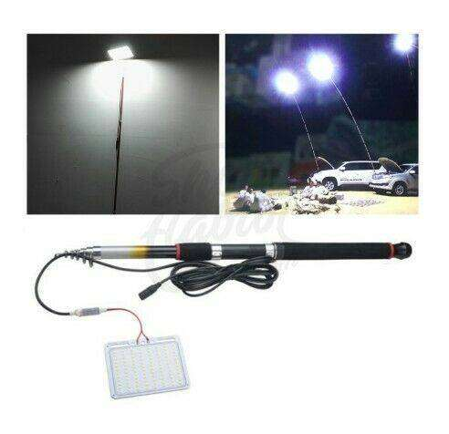 LED Fishing Rod Camping Lamp with Remote 0