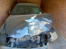 BMW E90 accident (