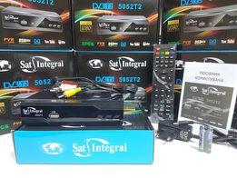 Новый тюнер Т2 Sat-Integral 5052 T2 приставка ресивер декодер YouTube
