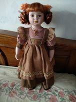 Большая коллекционная фарфоровая кукла Leonardo Collection