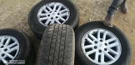 Toyota Fortuner Mags and Tyres