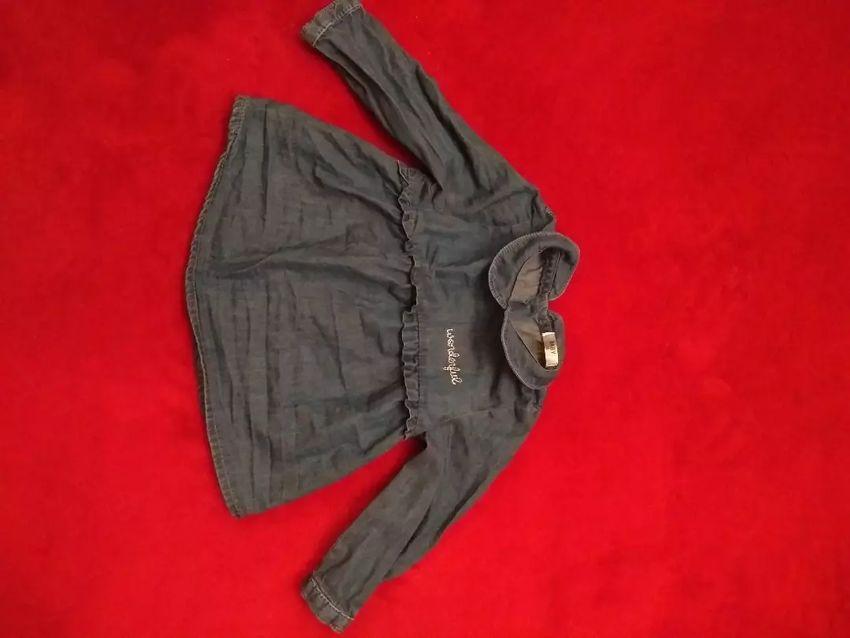 Šaty/tunika, vel. 74 (zodpovídá spíše 68), Zn. Pepco 0