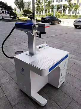 Fiber laser marking engraving machine