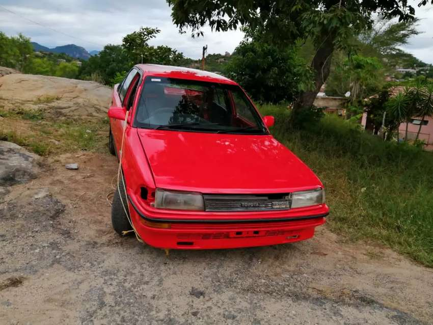 On Behalf of a friend Toyota Corolla for sale contact 0