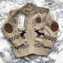 Тёплый свитер кофта на 1 год next