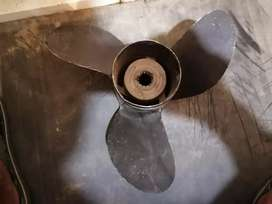 Outboard motor propellers