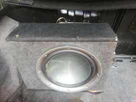 Subwoofer and amp for cheap sale
