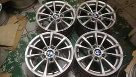 We have 16 inch BMW mag rims for sale.