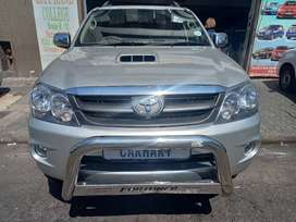 2007 TOYOTA FORTUNER 3.0 D4D WITH 105000KM