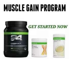 Muscle growth and recovery shake