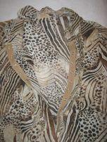 Блузка шифоновая, размер 44