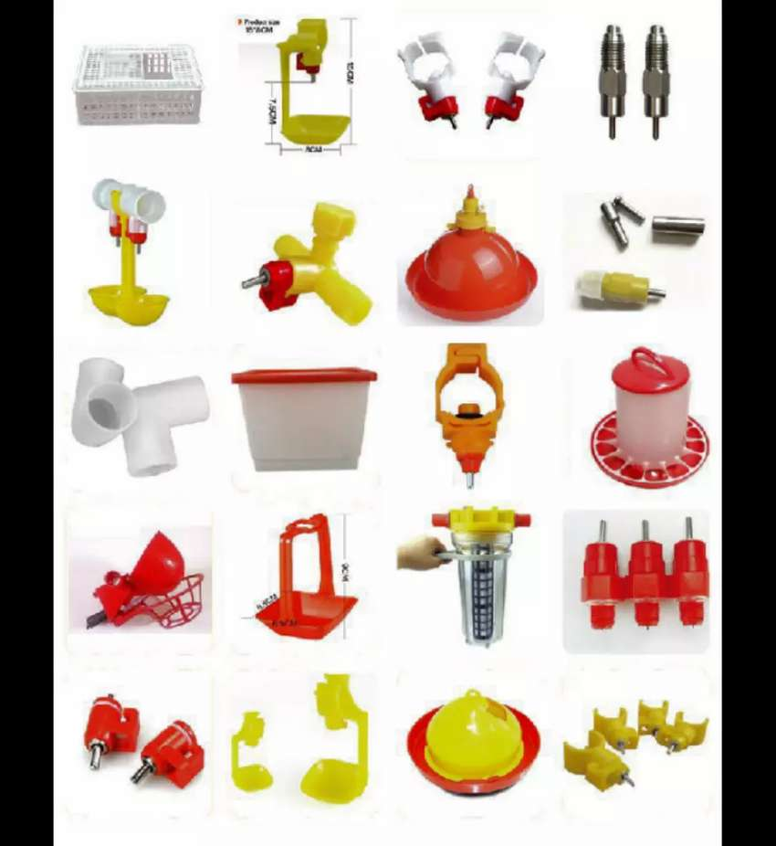 Battery chicken cages and accessories 0