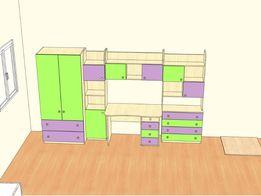 б.у. комплект детская мебель Снайт snite L-class